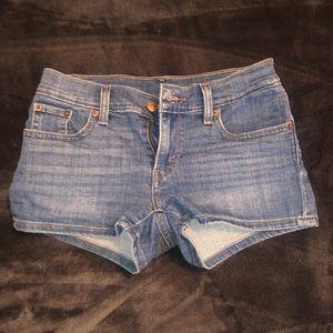 Levi Denim Jean Shorts - Size 25